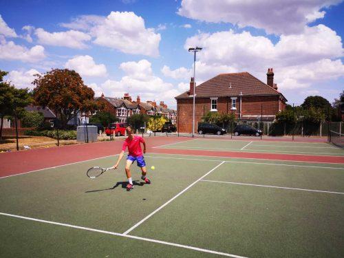ingles y tenis